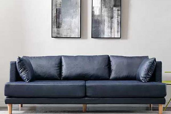 Ghế sofa băng giả da cho phòng khách đẹp hiện đại