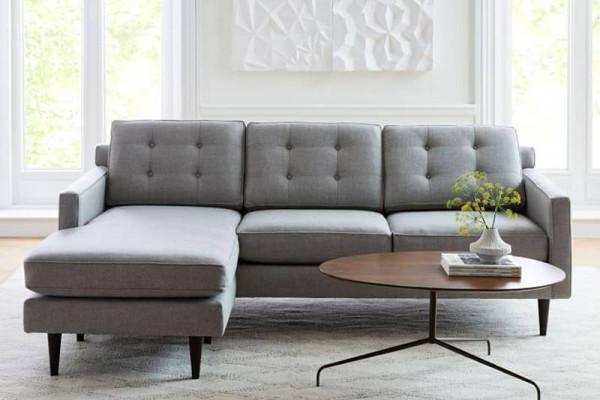 Ghế sofa góc hiện đại chữ L tuyệt đẹp cho căn hộ