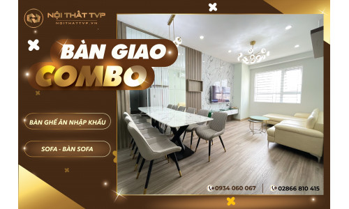 Nội thất TVP cảm ơn Anh Hoàng Liêm:Chung cư topaz elite phonex 2  quận 8, tp. Hồ Chí Minh đã mua combo bàn ghế ăn