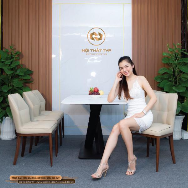Bộ bàn ghế ăn mã TVP30122