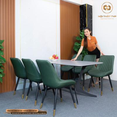 Bộ bàn ghế ăn mã TVP20116