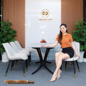 Bộ bàn ghế ăn mã TVP20115