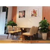 Bộ bàn ghế ăn cao cấp mã TVP30123