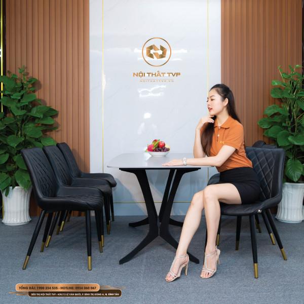 Bộ bàn ghế ăn mã TVP20113