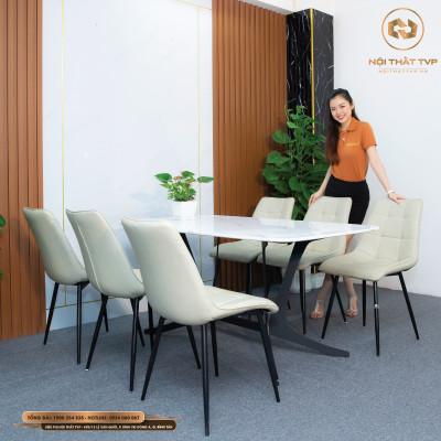 Bộ bàn ghế ăn mã TVP20119