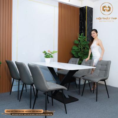 Bộ bàn ghế ăn mã TVP30118
