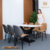 Bộ bàn ghế ăn mã TVP30116